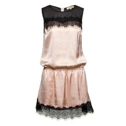 Handbook Fashion - Vestido rendado nude - R$129,99