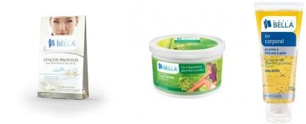 Lenços Prontos para Depilação Suave Facial 16F Vanilla Depil Bella-horz