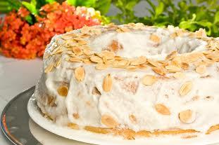 bolo de pera