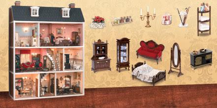 Casa Vitoriana com a coleção da Planeta DeAgostini 7
