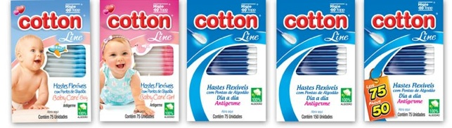 hastes flexiveis cotton_line